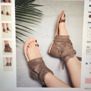 FREE PEOPLE Delaney Boot Sandal